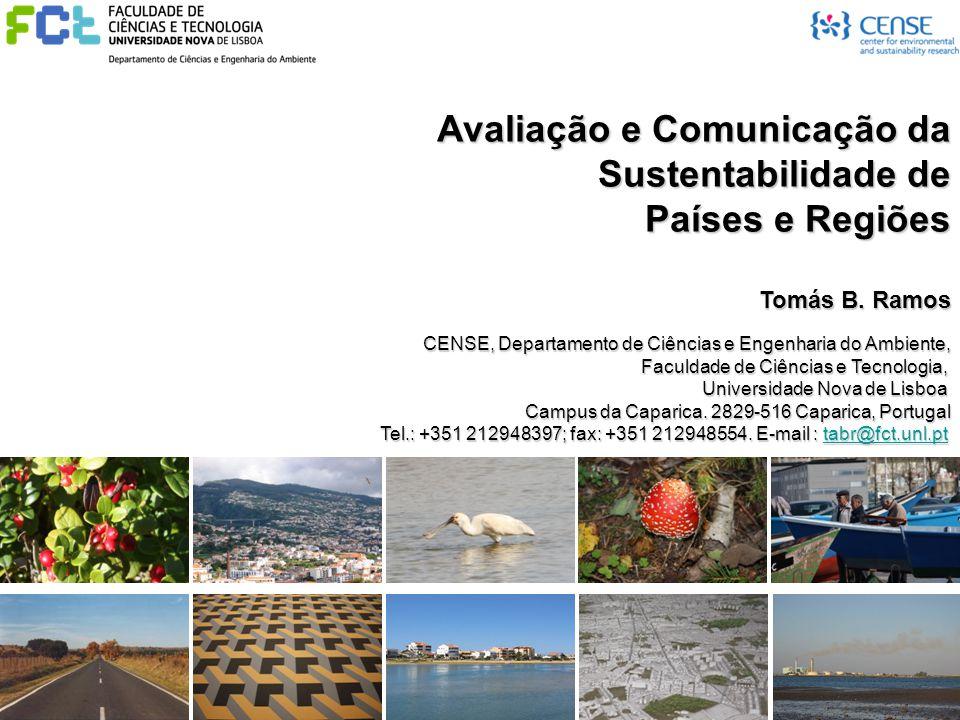 Avaliação e Comunicação da Sustentabilidade de Países e Regiões