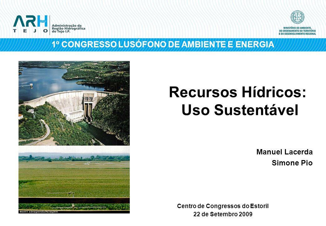 Recursos Hídricos: Uso Sustentável