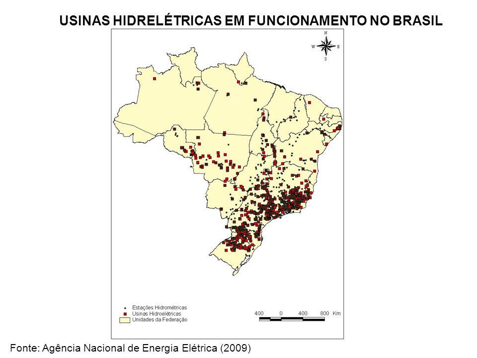 Fonte: Agência Nacional de Energia Elétrica (2009)