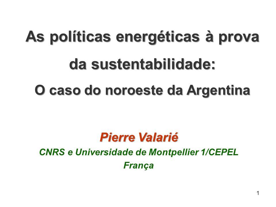 As políticas energéticas à prova da sustentabilidade: