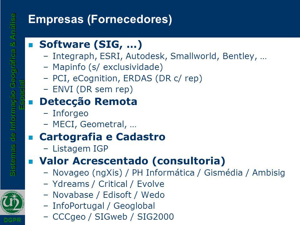 Empresas (Fornecedores)