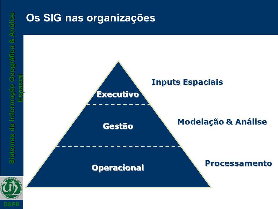 Os SIG nas organizações