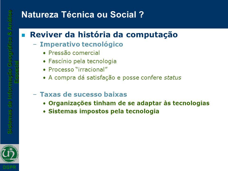 Natureza Técnica ou Social