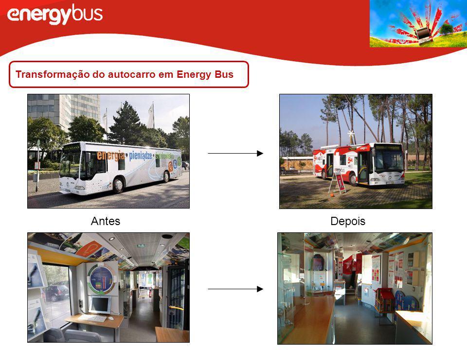 Transformação do autocarro em Energy Bus
