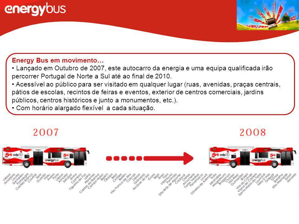 Energy Bus em movimento…
