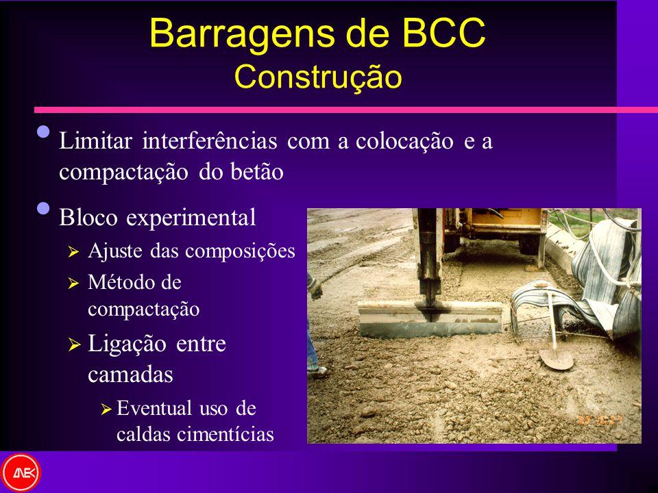 Barragens de BCC Construção
