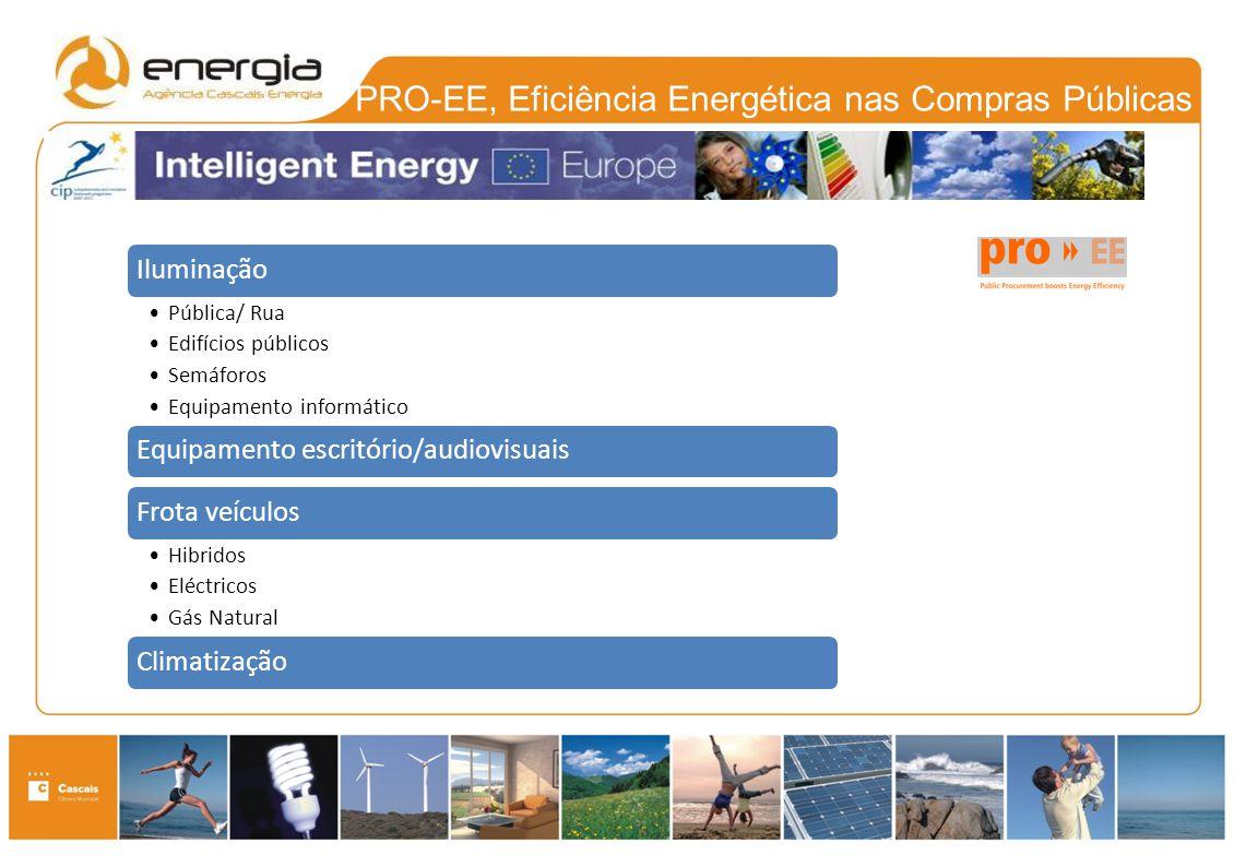 PRO-EE, Eficiência Energética nas Compras Públicas