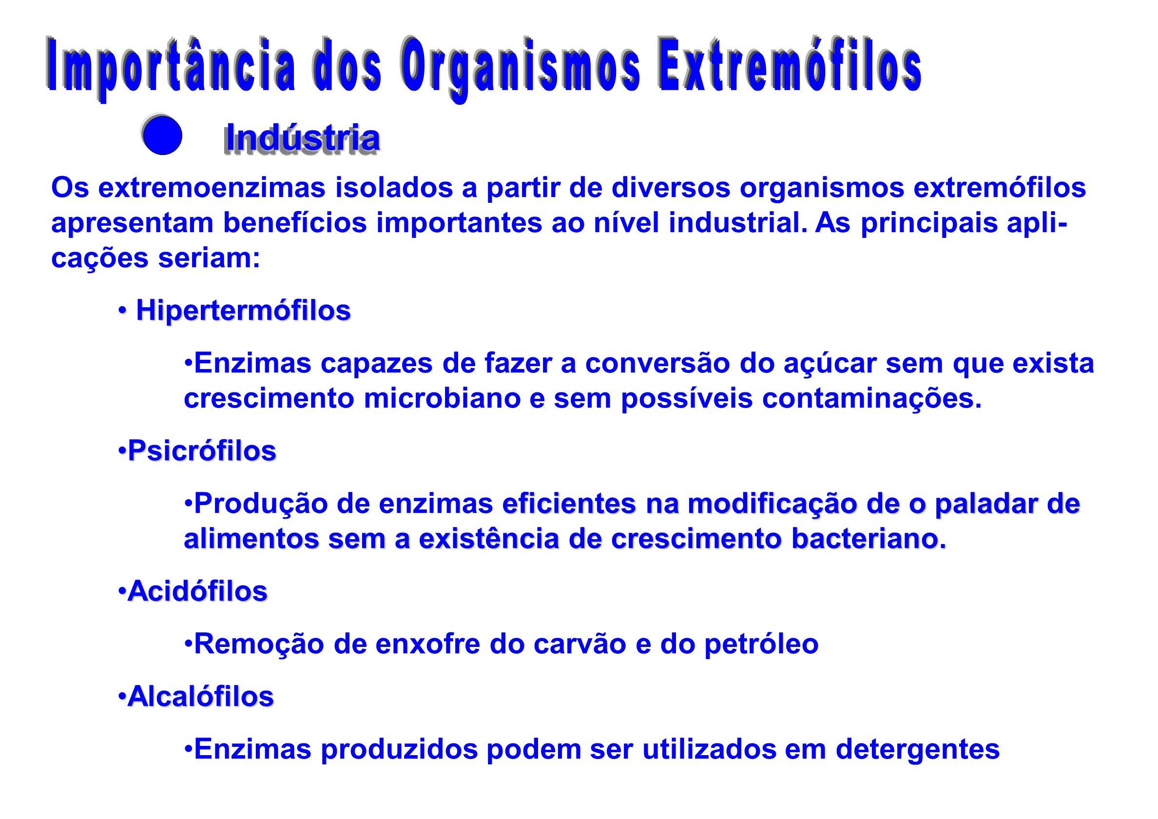 Importância dos Organismos Extremófilos