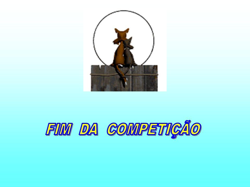 FIM DA COMPETIÇÃO