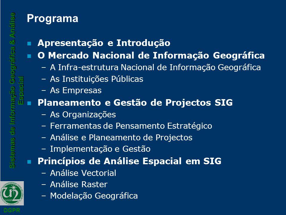 Programa Apresentação e Introdução