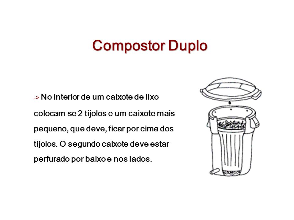 Compostor Duplo