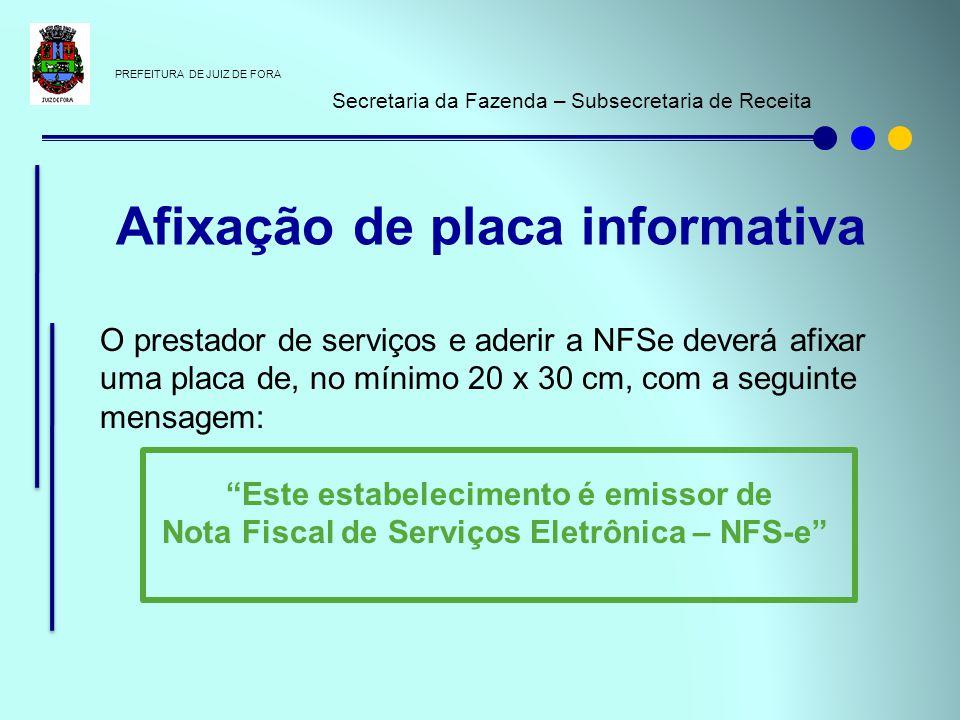 Nota Fiscal de Serviços Eletrônica – NFS-e