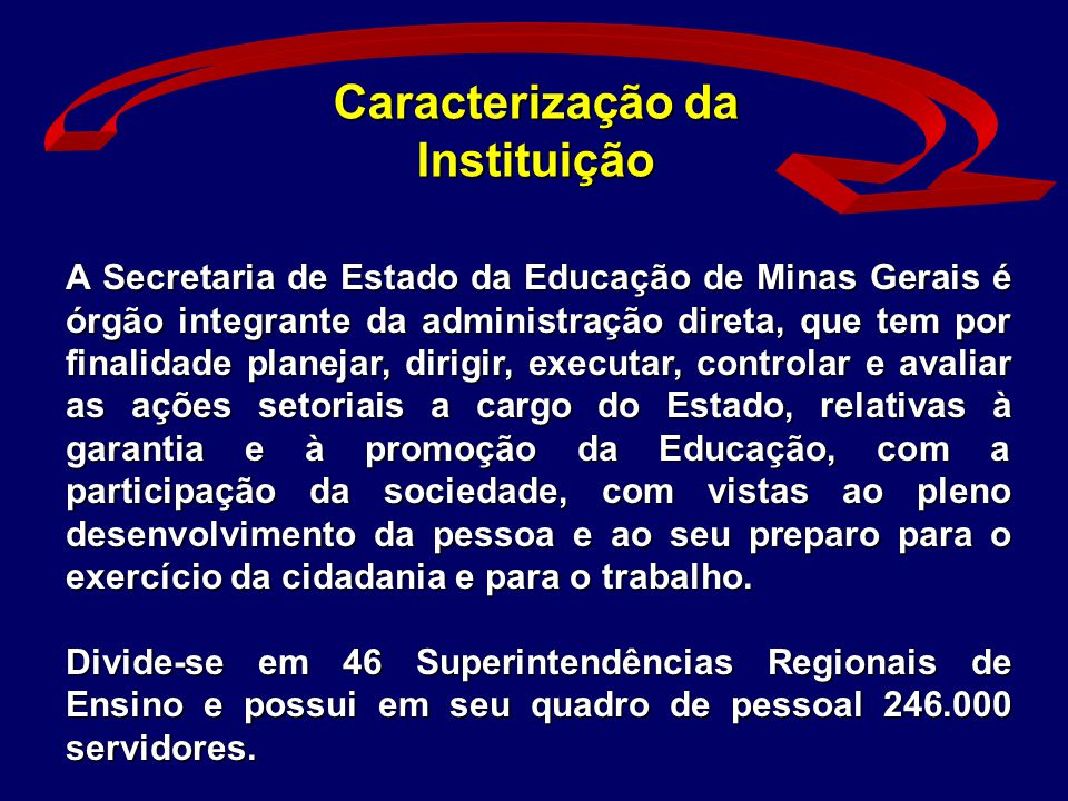 Caracterização da Instituição
