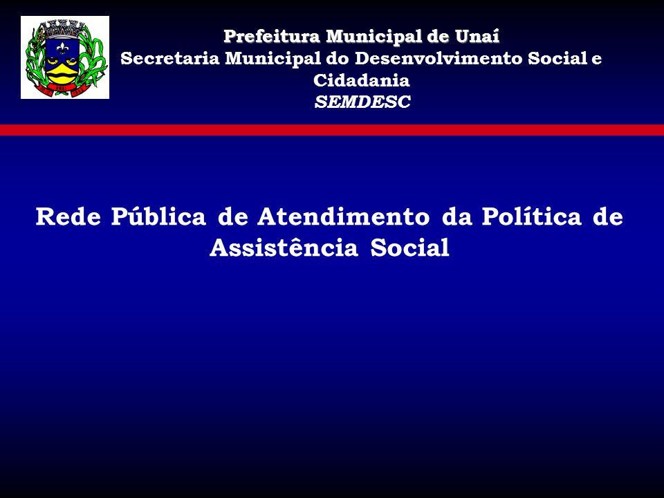 Rede Pública de Atendimento da Política de Assistência Social