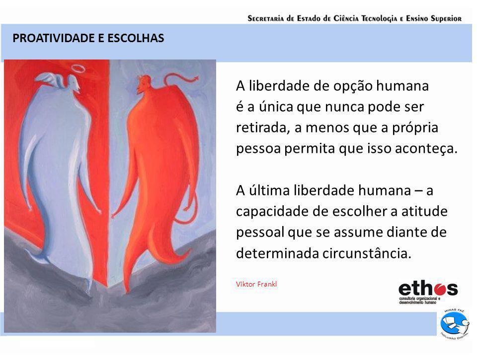 A liberdade de opção humana