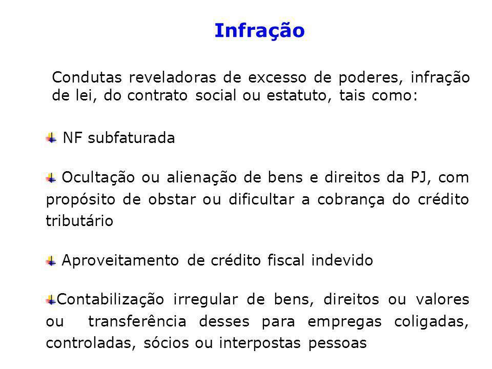 Infração NF subfaturada
