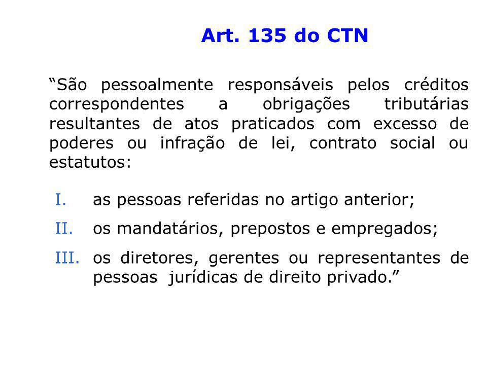 Art. 135 do CTN