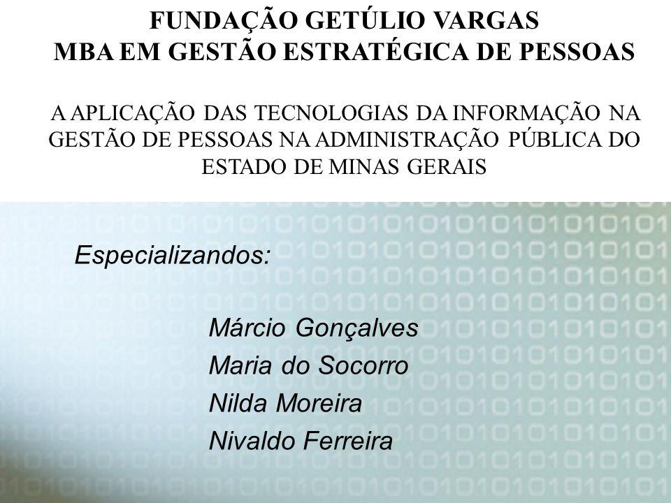 Márcio Gonçalves Maria do Socorro Nilda Moreira Nivaldo Ferreira