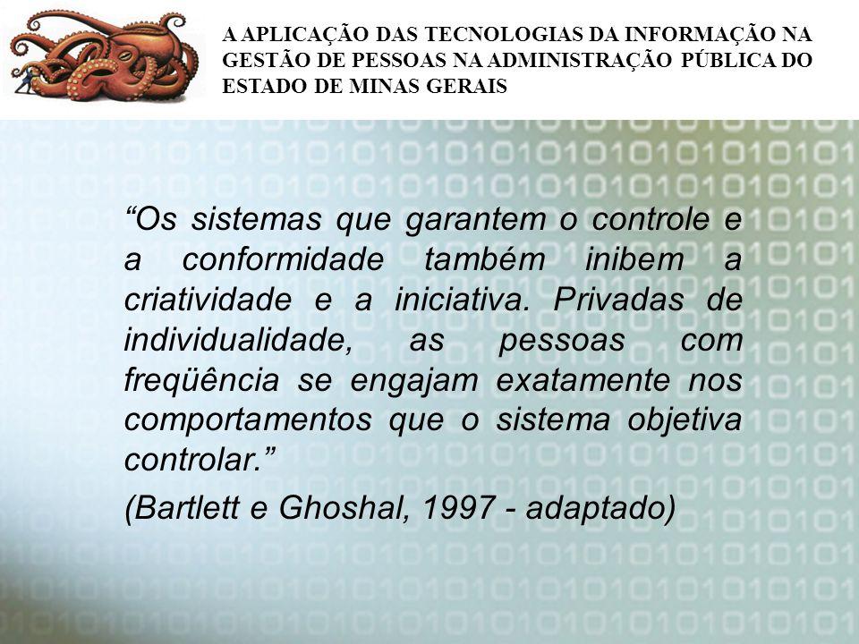 (Bartlett e Ghoshal, 1997 - adaptado)