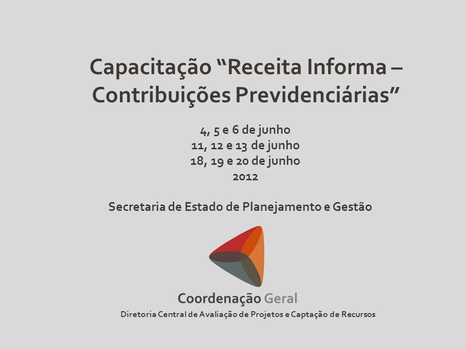 Capacitação Receita Informa – Contribuições Previdenciárias