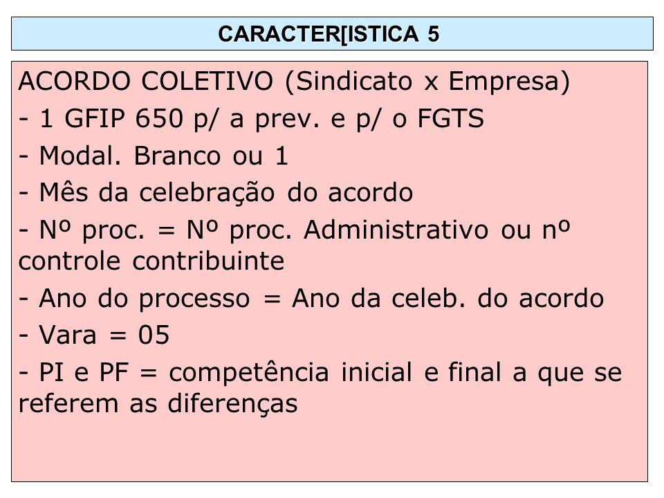 ACORDO COLETIVO (Sindicato x Empresa)