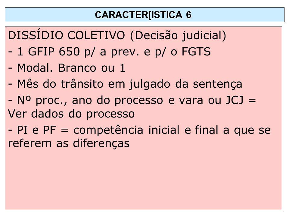 DISSÍDIO COLETIVO (Decisão judicial)