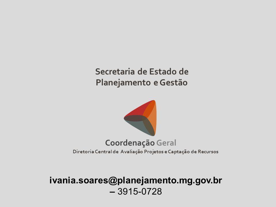 Secretaria de Estado de Planejamento e Gestão