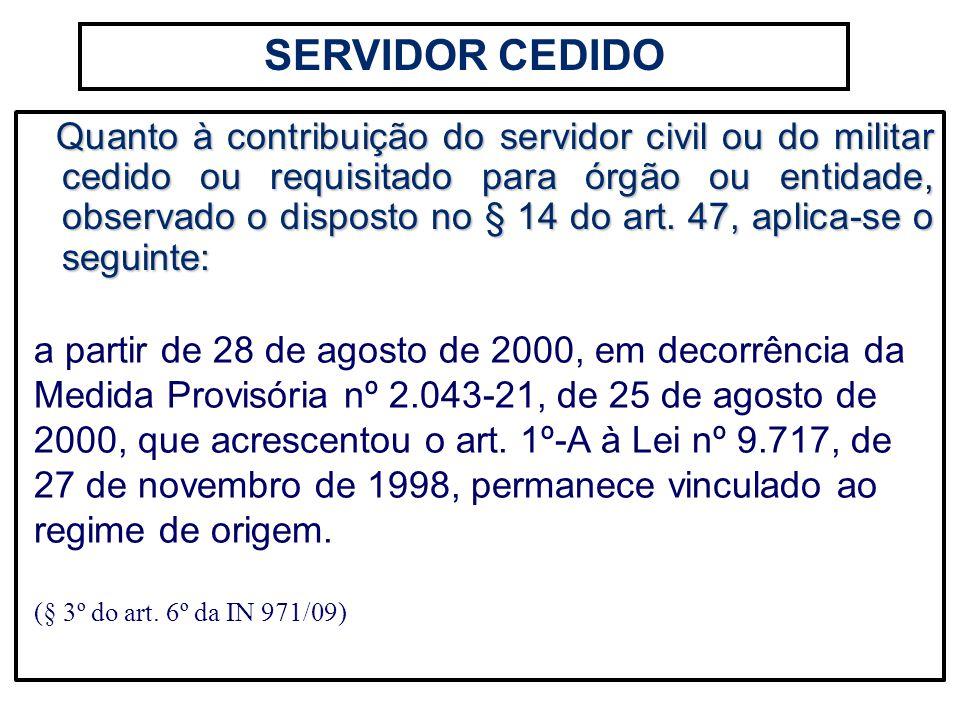 SERVIDOR CEDIDO