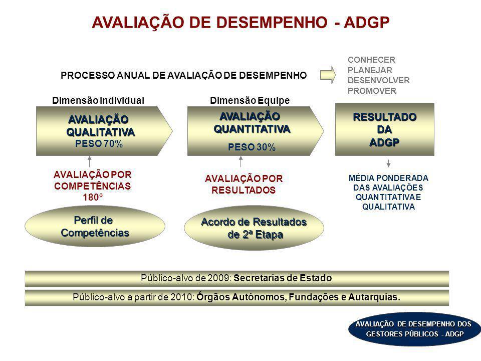 AVALIAÇÃO DE DESEMPENHO - ADGP