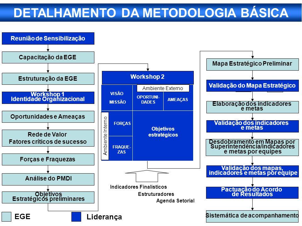 DETALHAMENTO DA METODOLOGIA BÁSICA