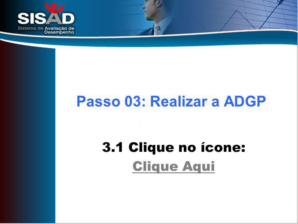 3.1 Clique no ícone: Clique Aqui