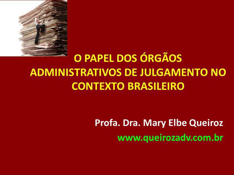 Profa. Dra. Mary Elbe Queiroz www.queirozadv.com.br
