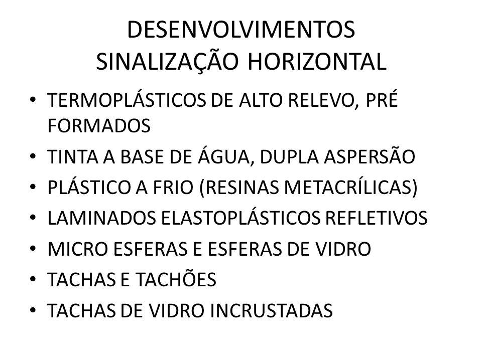 DESENVOLVIMENTOS SINALIZAÇÃO HORIZONTAL