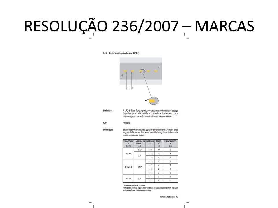 RESOLUÇÃO 236/2007 – MARCAS