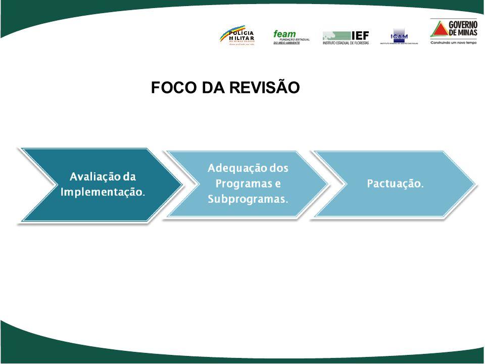 FOCO DA REVISÃO