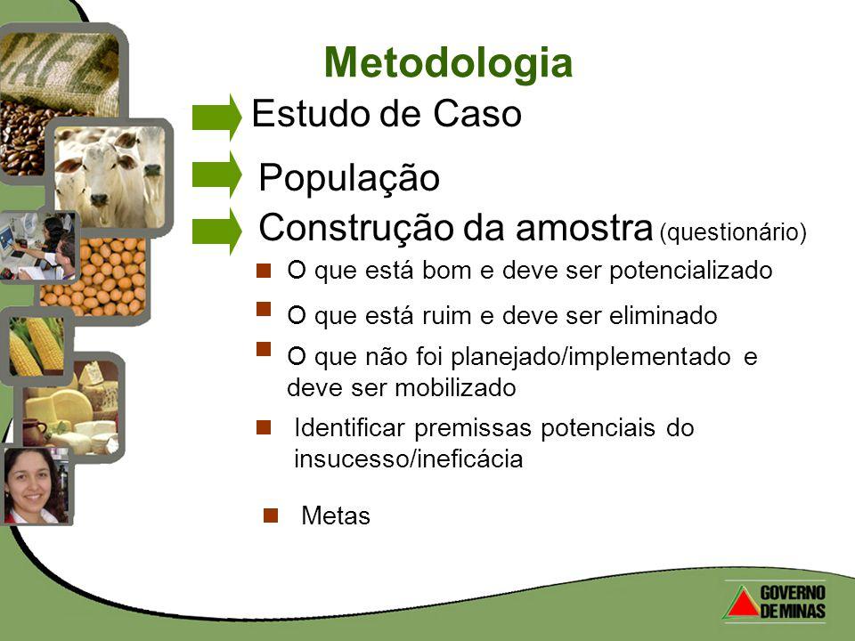 Metodologia Estudo de Caso População