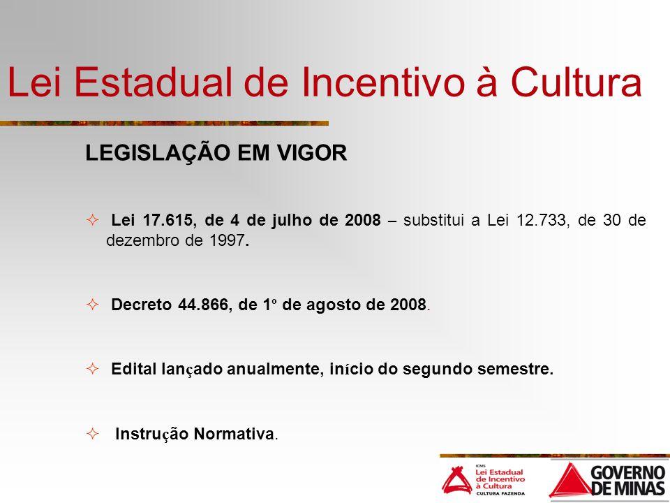 Lei Estadual de Incentivo à Cultura