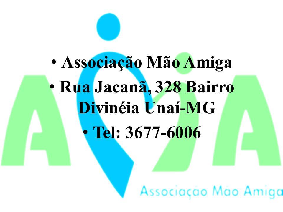 Rua Jacanã, 328 Bairro Divinéia Unaí-MG