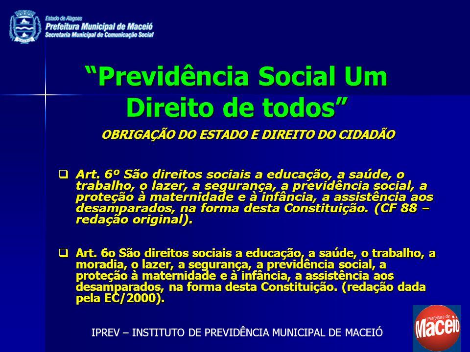 Previdência Social Um Direito de todos