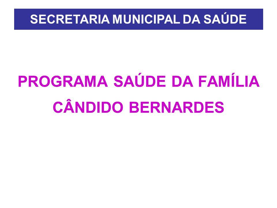 PROGRAMA SAÚDE DA FAMÍLIA CÂNDIDO BERNARDES