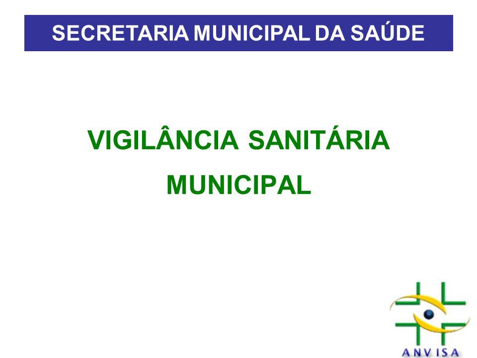 VIGILÂNCIA SANITÁRIA MUNICIPAL