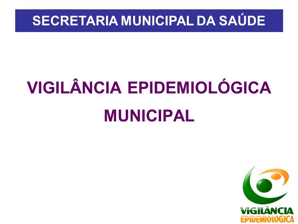 VIGILÂNCIA EPIDEMIOLÓGICA MUNICIPAL