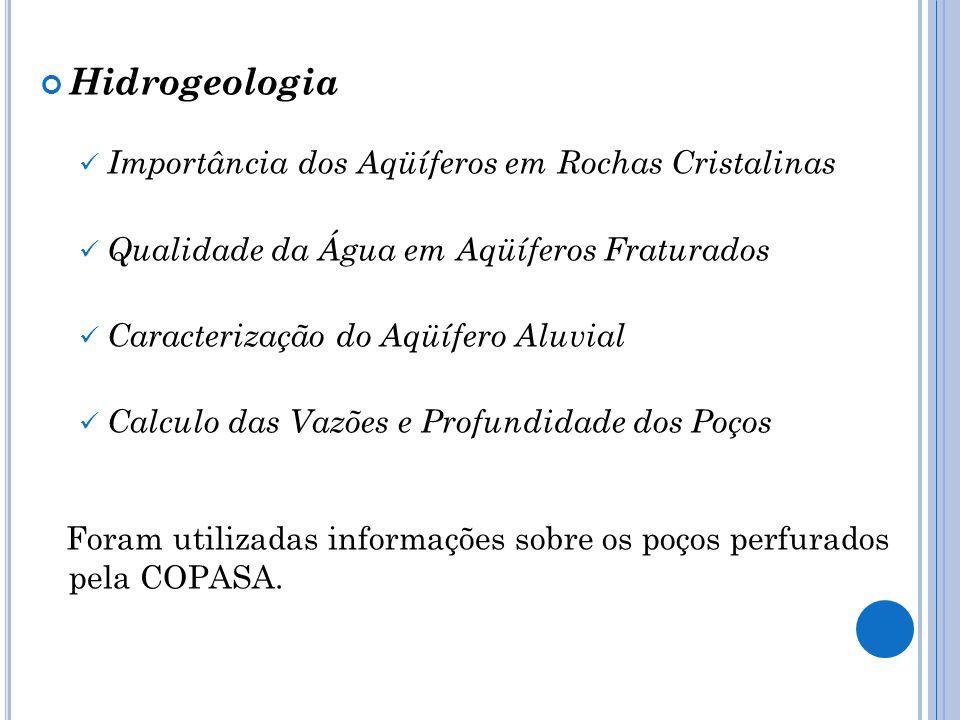 Hidrogeologia Importância dos Aqüíferos em Rochas Cristalinas