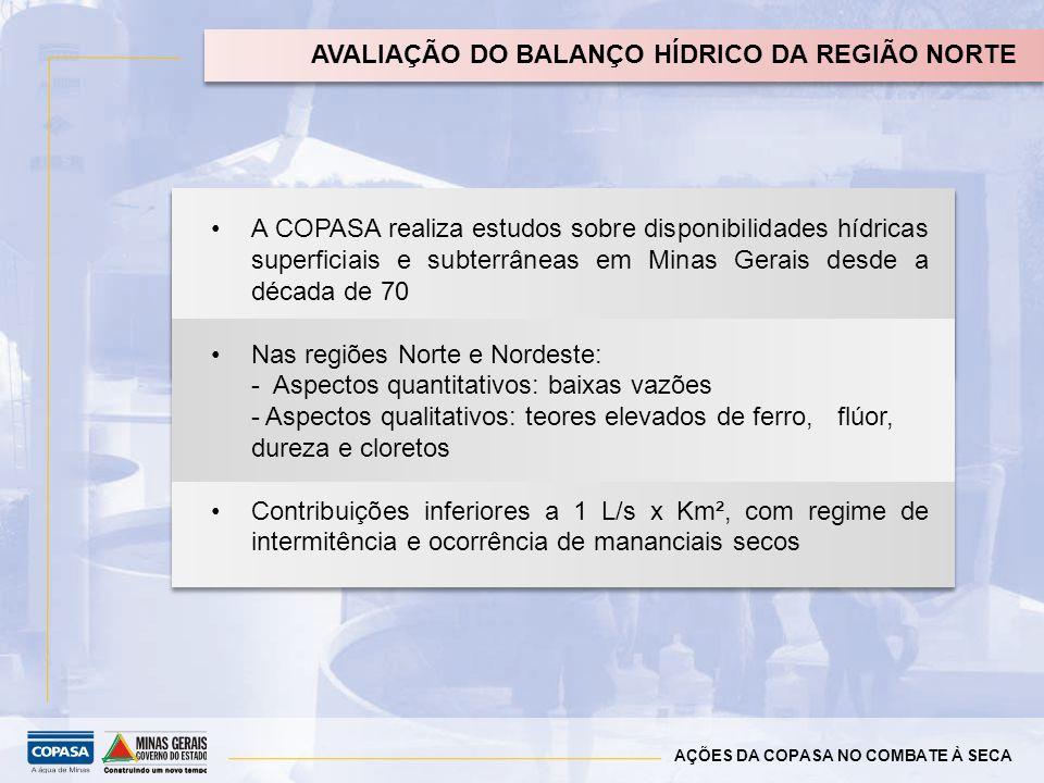 AVALIAÇÃO DO BALANÇO HÍDRICO DA REGIÃO NORTE