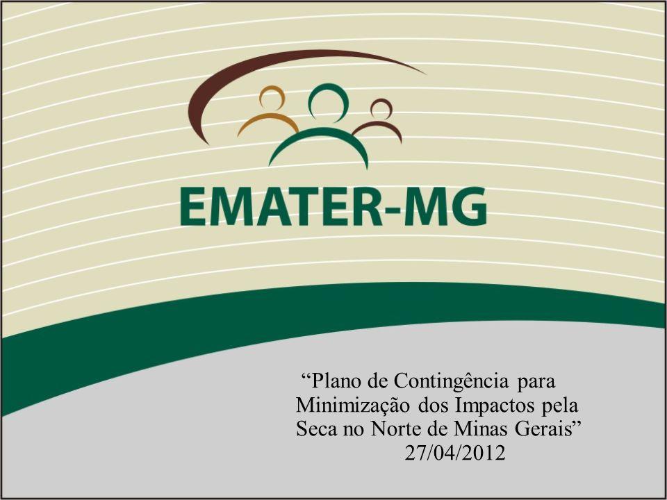 Plano de Contingência para Minimização dos Impactos pela Seca no Norte de Minas Gerais