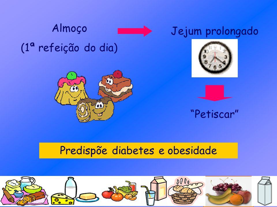 Predispõe diabetes e obesidade