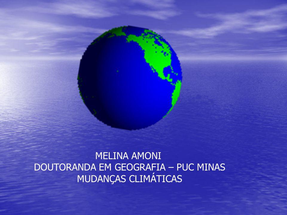 DOUTORANDA EM GEOGRAFIA – PUC MINAS