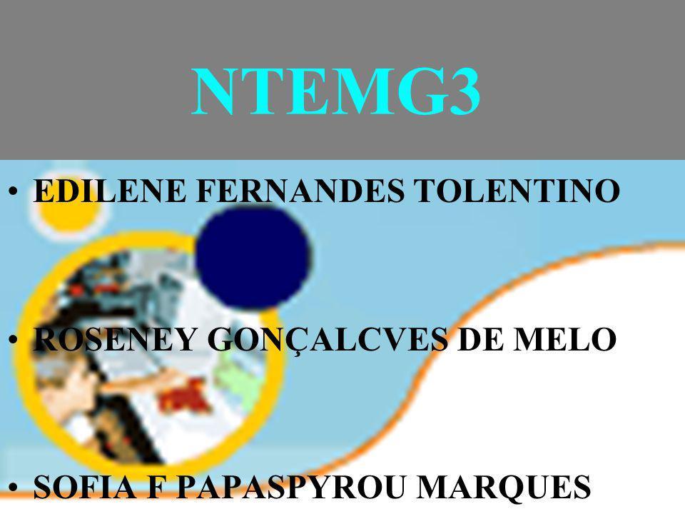 NTEMG3 EDILENE FERNANDES TOLENTINO ROSENEY GONÇALCVES DE MELO
