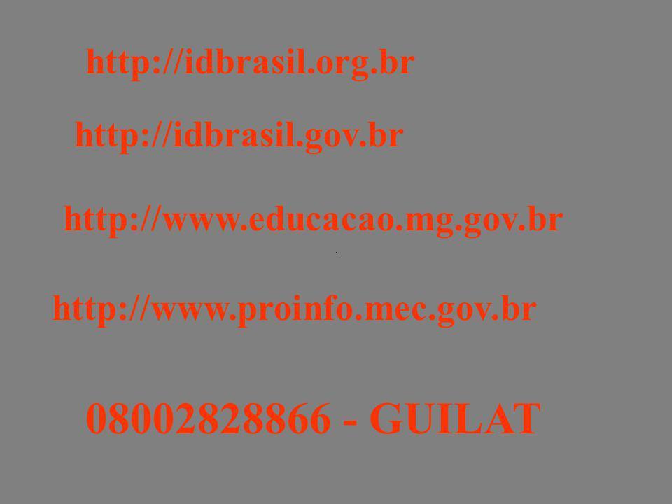08002828866 - GUILAT http://idbrasil.org.br http://idbrasil.gov.br
