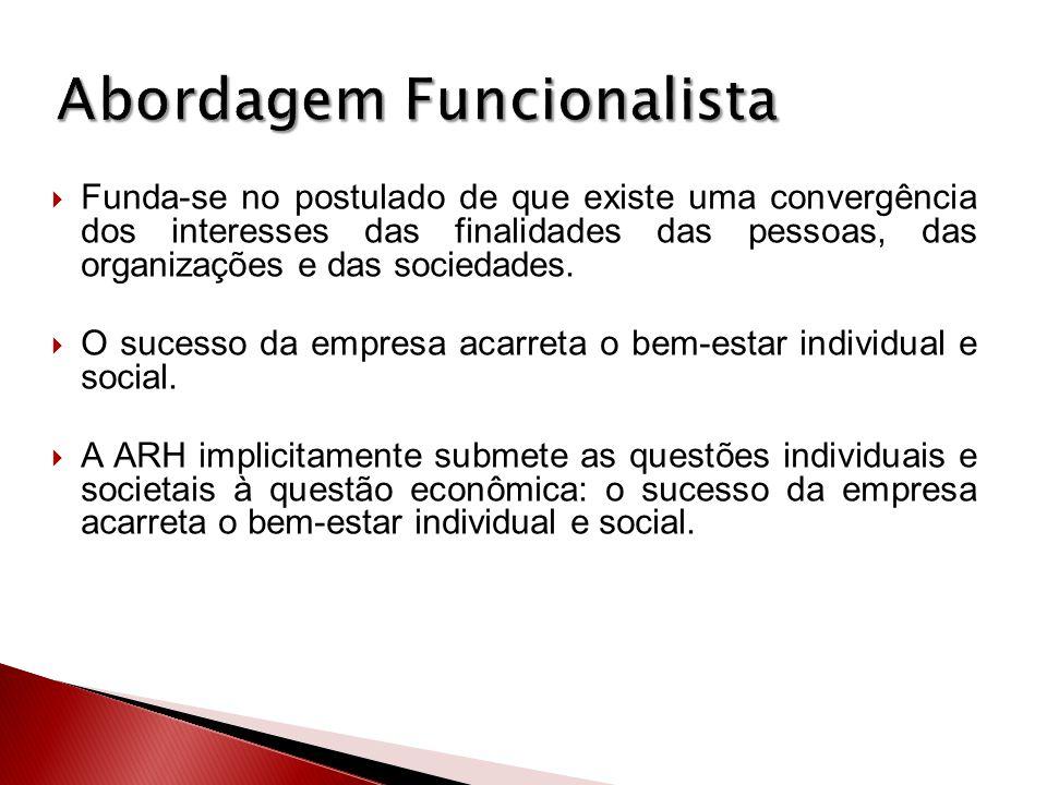 Abordagem Funcionalista